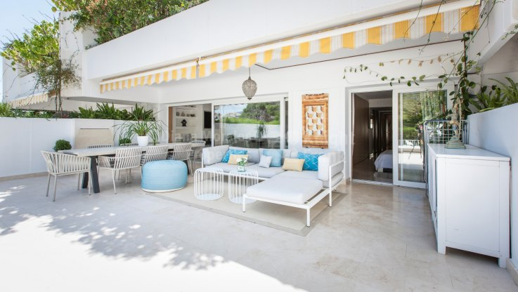 Ground floor Apartment in the Golden Mile - Ground Floor Apartment for sale in Terrazas de Las Lomas, Marbella Golden Mile