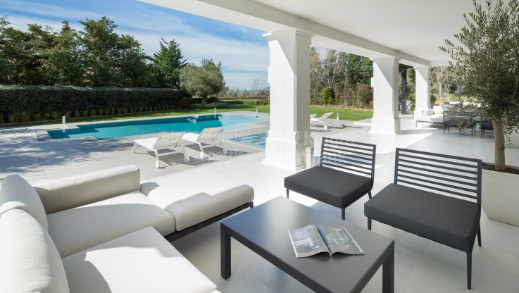 Exceptional Home at Foothills of Sierra Blanca - Villa for sale in Los Picos, Marbella Golden Mile