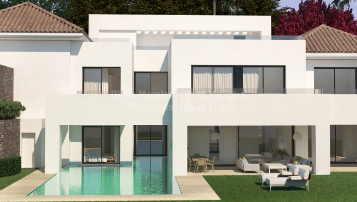 Paraiso Alto, Villa nearly completed
