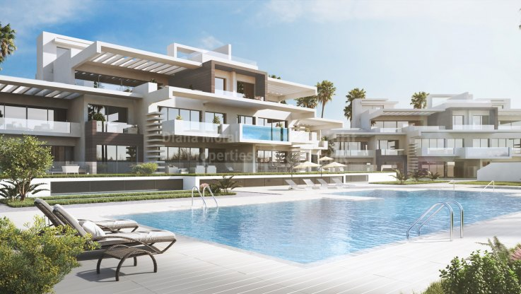 Marbella city, New Golden Mile Ground Floor Apartment
