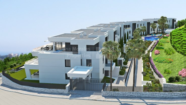 Newly Built Two-bedroom Apartment in Nueva Andalucia - Ground Floor Apartment for sale in La Cerquilla, Nueva Andalucia