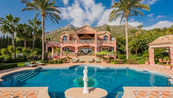 Imposing Mansion in Sierra Blanca - Villa for sale in Sierra Blanca, Marbella Golden Mile