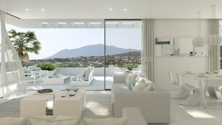 Estepona, New First Floor Apartment near Golf