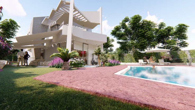 Ultramodern eco-efficient housing and energy rating A - Villa for sale in Atalaya, Estepona