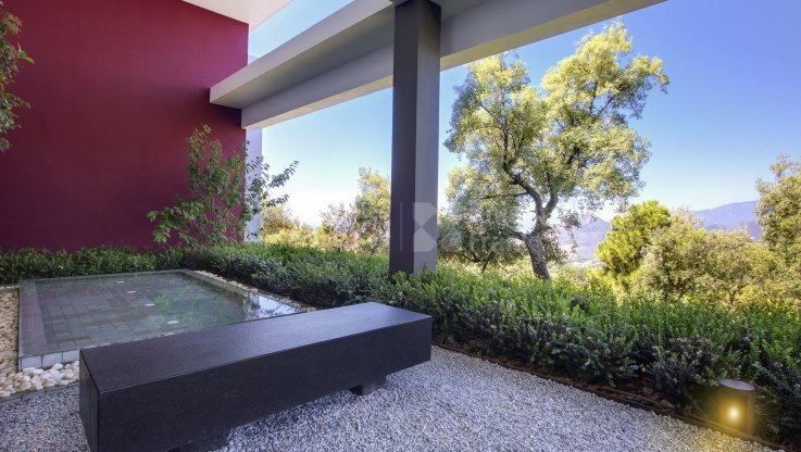 New modern villa with stunning views in La Zagaleta - Villa for sale in La Zagaleta, Benahavis