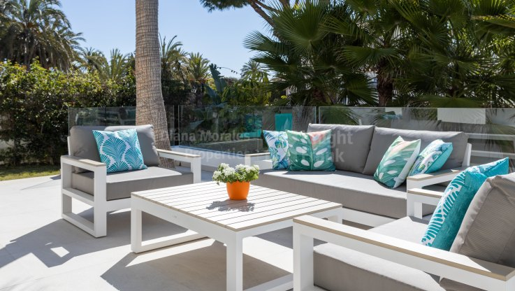 New villa in Marbesa close to the beach - Villa for sale in Marbesa, Marbella East