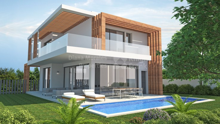 Estepona, Two Level Villa Near Completion