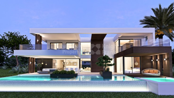 Estepona, Modern Villa under Construction in a 13-unit Complex
