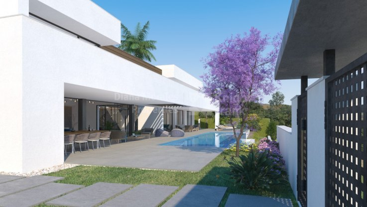 Benahavis, MODERN VILLA IN A SMALL 3 UNIT COMPLEX , BENAHAVIS