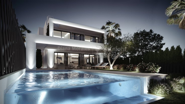 Altos de Puente Romano, Exclusive Villa under construction in the heart of Marbella Golden Mile