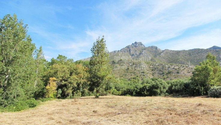 Fantastic Plot in Los Picos - Plot for sale in Los Picos, Marbella Golden Mile
