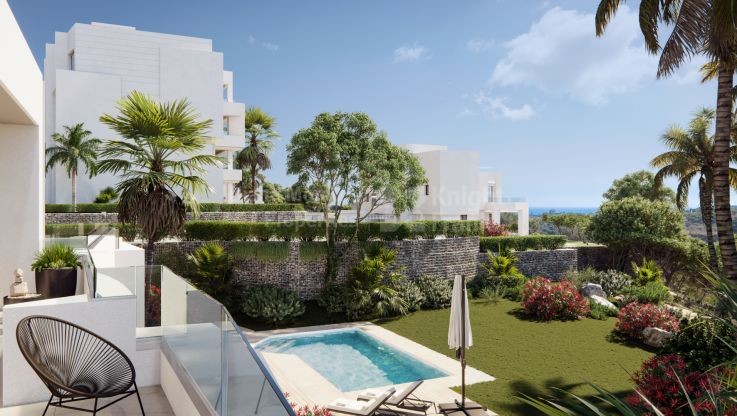 Marbella Ost, Moderne Villa in gated community