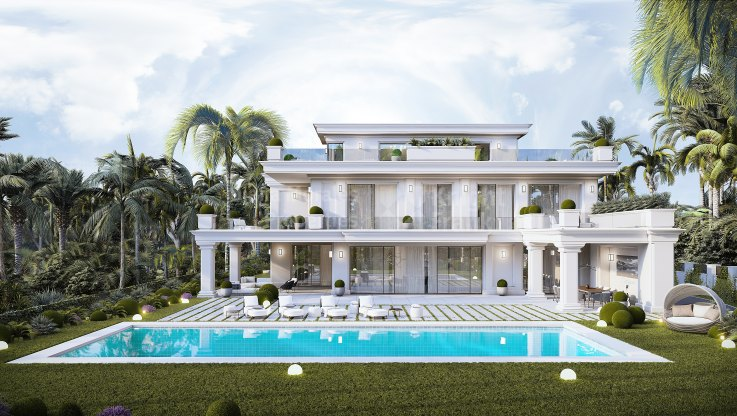 Exceptional villa in ideal location - Villa for sale in Las Lomas del Marbella Club, Marbella Golden Mile