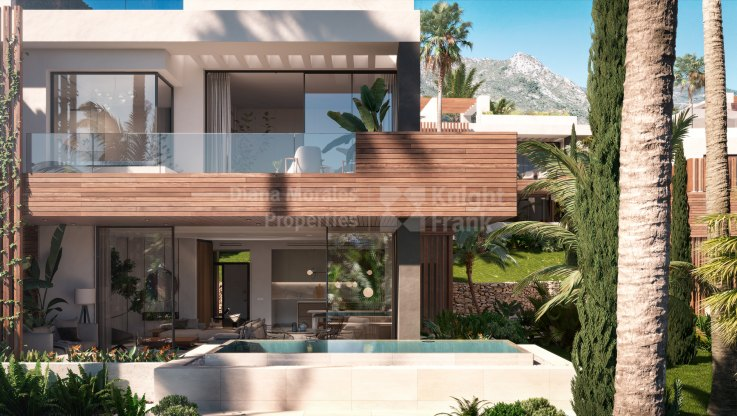 Balcones de Sierra Blanca, Contemporary villa on the slopes of Sierra Blanca