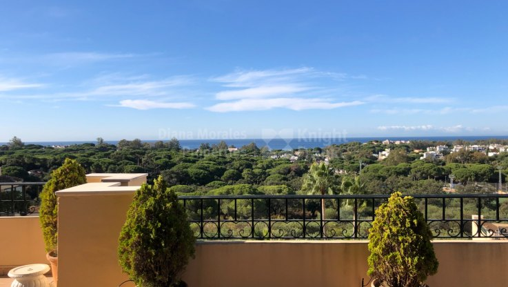Hacienda Elviria duplex penthouse for sale