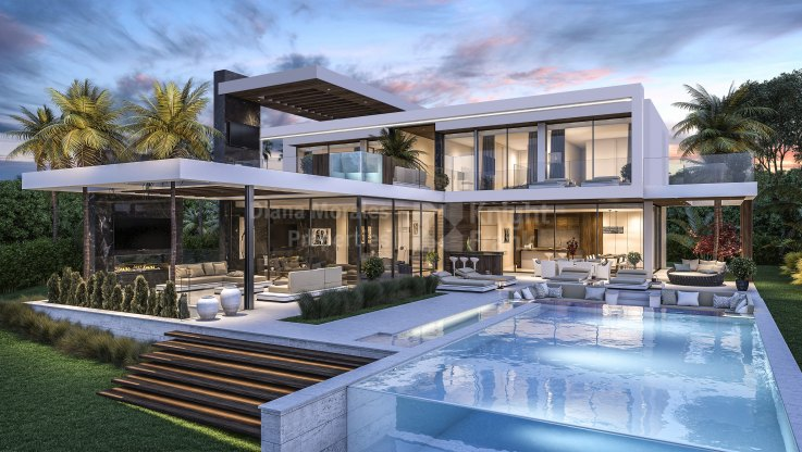 New modern villa in Los Flamingos