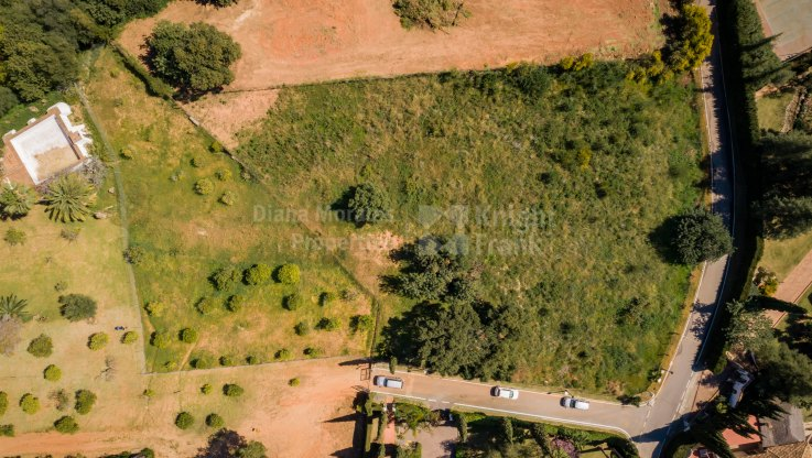 Plot with project for sale in Cascada de Camojan - Plot for sale in Cascada de Camojan, Marbella Golden Mile
