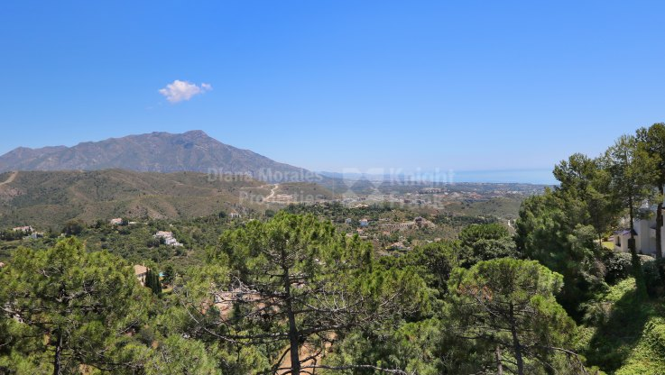 Plot with sea and mountain views in La Zagaleta - Plot for sale in La Zagaleta, Benahavis