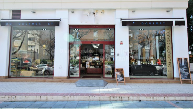 Marbella Centro, Commercial for rent and sale in the centre of Marbella