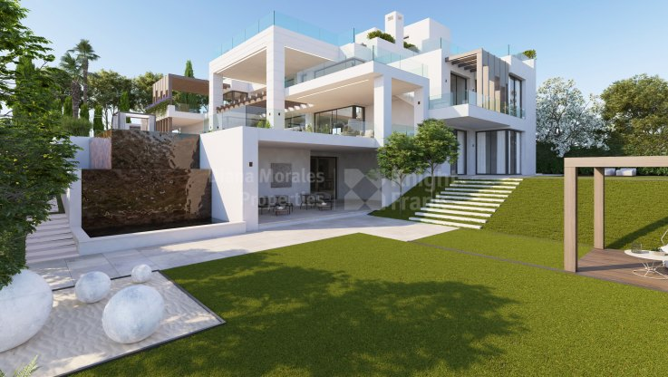 Brand new modern villa in Los Flamingos