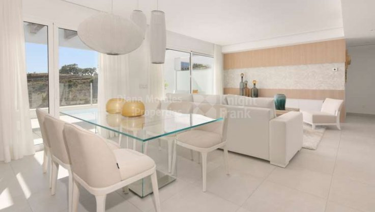 Bright apartment with panoramic views - Apartment for sale in Lomas de los Monteros, Marbella East
