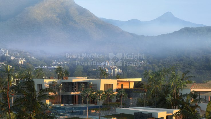 Plot with Project for a state-of-the-art home - Plot for sale in Cascada de Camojan, Marbella Golden Mile