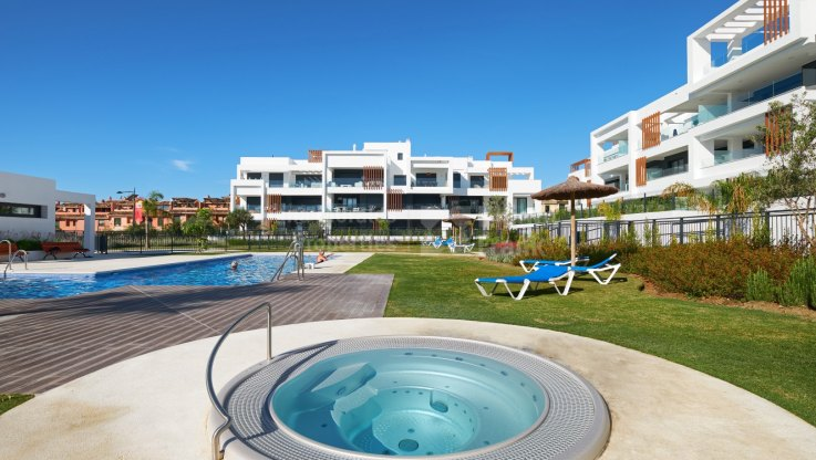 New coveniently located apartment near beach and facilities - Ground Floor Apartment for sale in Cancelada, Estepona