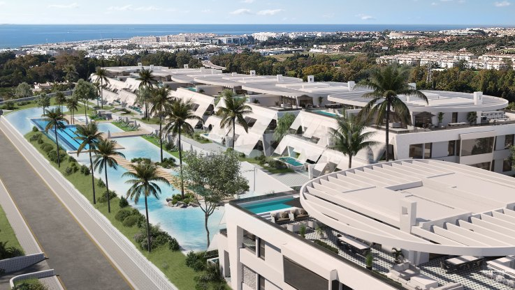 Marbella Golden Mile, Golden Mile duplex penthouse