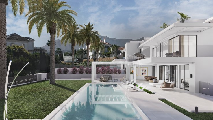 New Villa in Los Flamingos with stunning views - Villa for sale in Los Flamingos, Benahavis