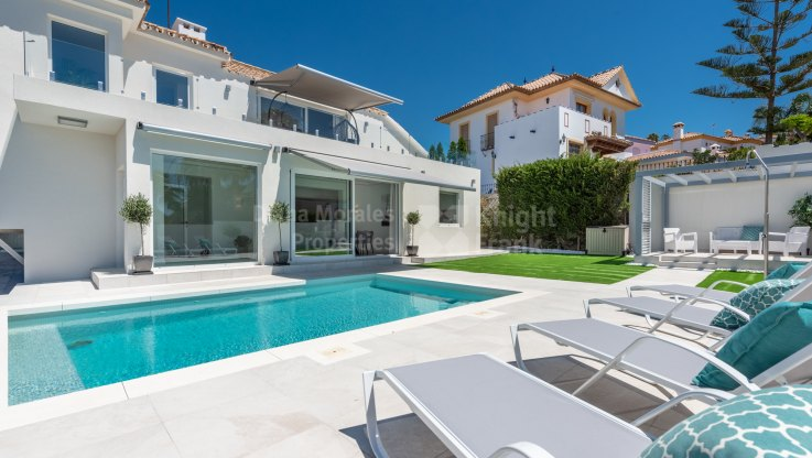 Villa with sea views in Estepona - Villa for sale in Seghers, Estepona
