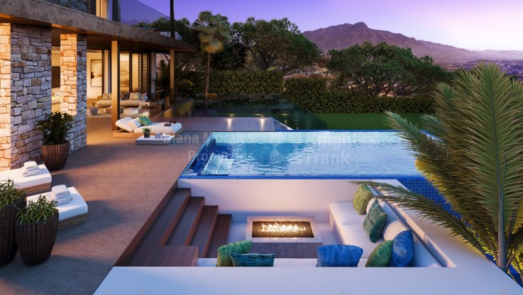 La Alqueria, Contemporary villa with panoramic views next to the Golf