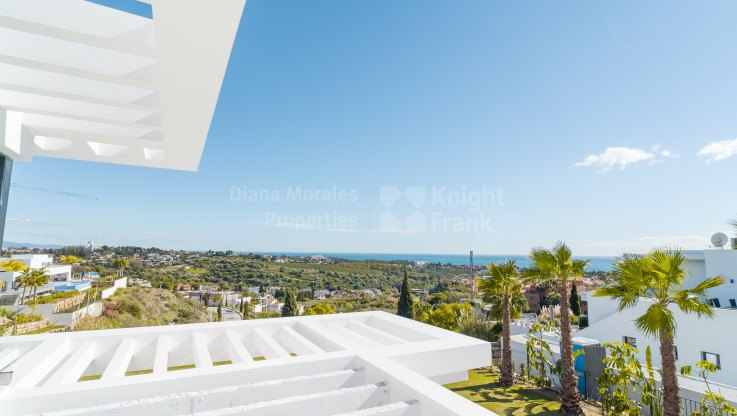 Villa in Los Flamingos with sea views