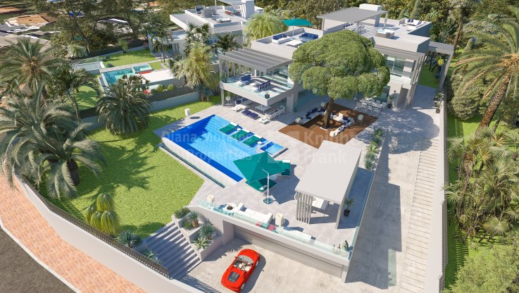Marbesa, Villa by the beach in Marbella East