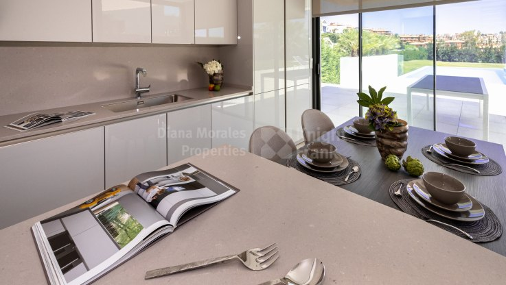 Newly built modern house in La Alqueria - Villa for sale in La Alqueria, Benahavis