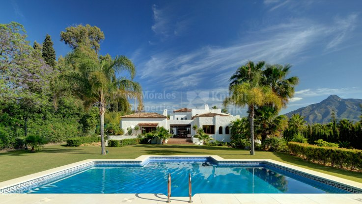 Villa within a short way to Puerto Banus - Villa for sale in Atalaya de Rio Verde, Nueva Andalucia