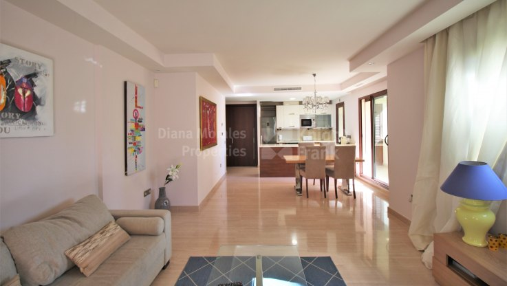 One bedroom apartment on the ground floor - Ground Floor Apartment for sale in Medina de Banús, Nueva Andalucia