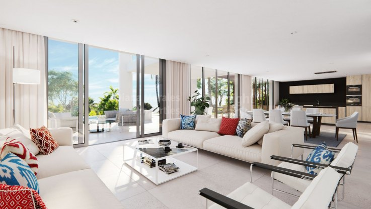 Villa in a boutique complex of 9 villas - Villa for sale in Santa Clara, Marbella East