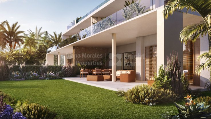 Exquisite three bedroom ground floor apartment - Ground Floor Apartment for sale in Finca Cortesin, Casares