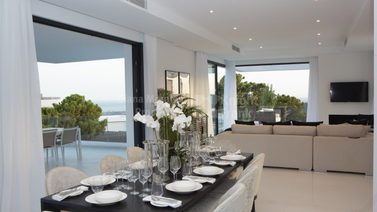 New villa with excelent modern design - Villa for sale in Monte Mayor, Benahavis