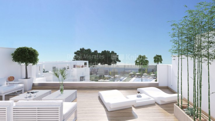 Huerta Belón, 3 bedroom townhouse in Marbella town