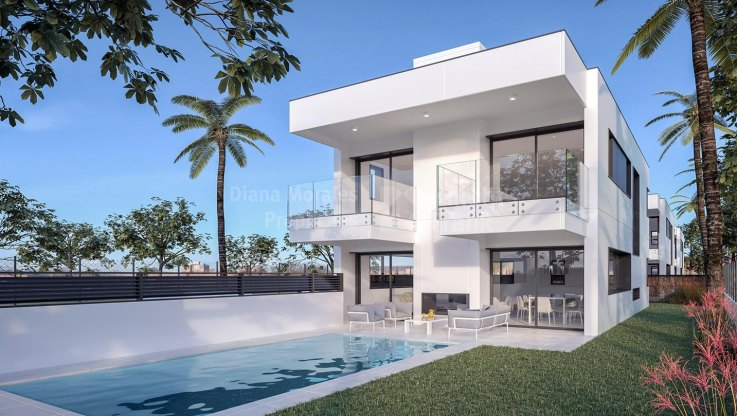 Turnkey project 300 meters from Puerto Banus beach - Villa for sale in Marbella - Puerto Banus