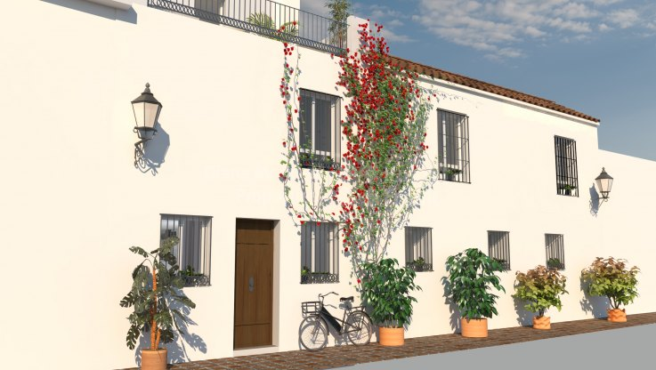 Casco antiguo, Project for townhouse in Marbella Old Town