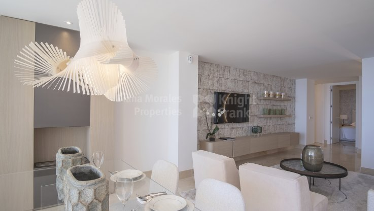 Nice frontline beach apartment - Apartment for sale in Estepona Playa, Estepona