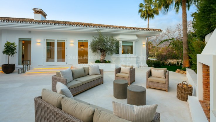 Superb villa frontline golf Las Brisas - Villa for sale in Las Brisas, Nueva Andalucia