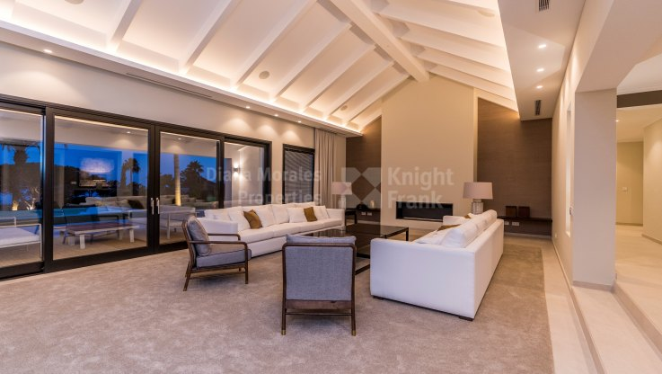 Exquisite villa on the slopes of Sierra Blanca - Villa for sale in Nagüeles, Marbella Golden Mile