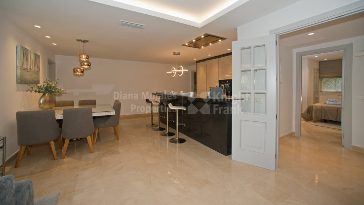 Property with garden and golf views - Apartment for sale in La Quinta, Benahavis
