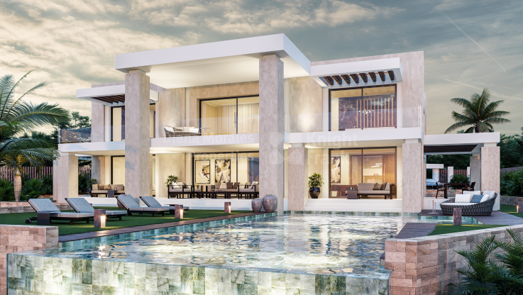 Sierra Blanca, Plot with Spectacular Project for an Unique Luxury Villa