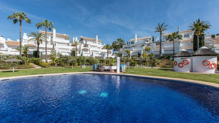 La Reserva de los Monteros, First floor apartment in Front Line Beach Complex