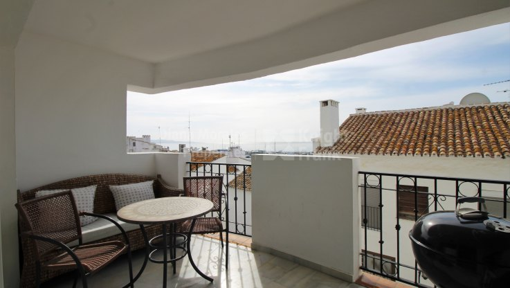 Duplex apartment with sea views in Puerto Banus - Duplex for sale in Puerto, Marbella - Puerto Banus