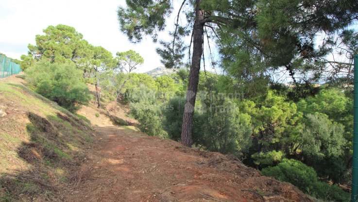 Plot within green location - Plot for sale in Marbella Club Golf Resort, Benahavis